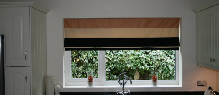 Emanuel's Curtains blinds and shutters | Roman blinds ...